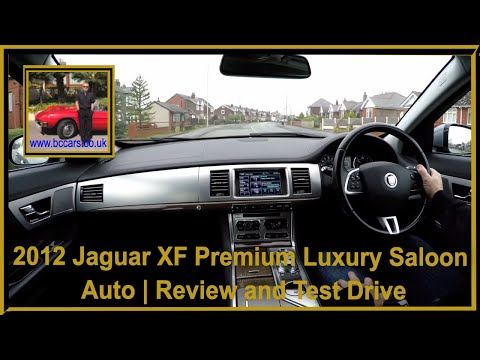 Virtual Video Test Drive in our 2012 Jaguar XF Premium Luxury Saloon Auto
