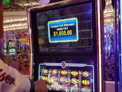 **HAND PAY** Quick Hits- Max Bet $27 @ new casino in Biloxi! FLIPPIN N DIPPIN