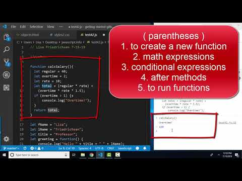 javascript.info The Modern JavaScript Tutorial: Syntax review thumbnail