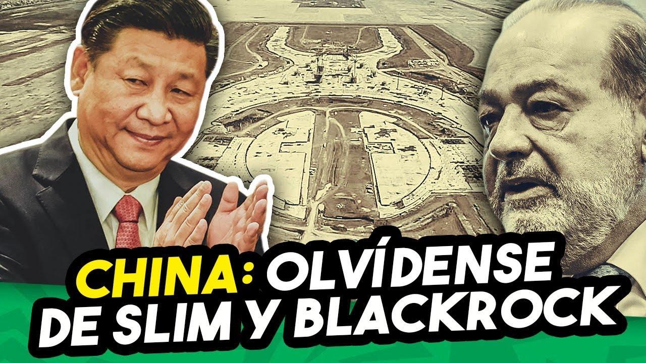 Resultado de imagen para Ante presiones de Slim y BlackRock, China ofrece construir los aeropuertos de López Obrador