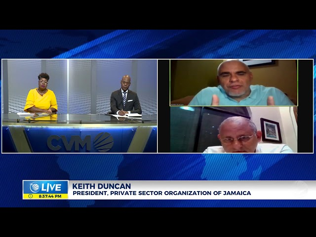 Jamaica: The Impact of COVID-19 on GDP | Panel Discussion | CVMTV