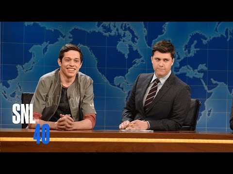 Weekend Update: Pete Davidson on Cyber Security and Gay Porn  SNL