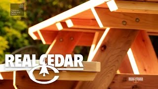 Realcedar.com How To Videos - Outdoor Table & Bench