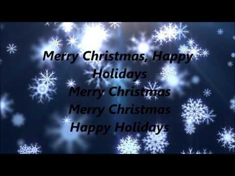 Pentatonix - Merry Christmas, Happy Holidays (Lyrics)