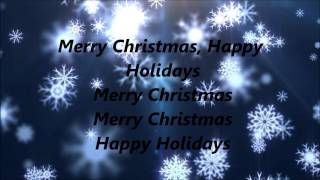 Pentatonix - Merry Christmas, Happy Holidays (Lyrics)