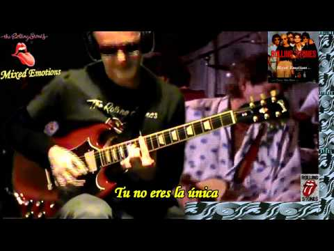 Mixed Emotions Subtitulada Español Rolling Stones & RollingBilbao Guitar Cover HD.wmv