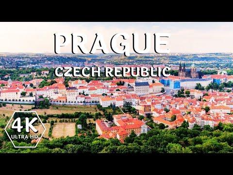 Prague Capital of the Czech Republic | Prague Drone Footage | 4K UHD
