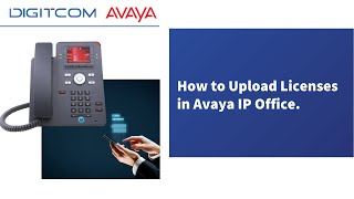 How to Upload Licenses in Avaya IP Office