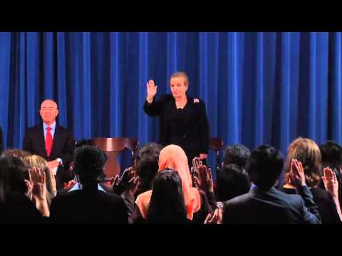 Naturalization Ceremony with Outstanding American by Choice, Madeleine Albright