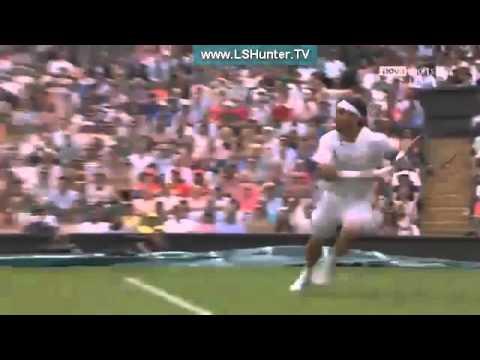 Роджер Федерер и Фабио Фоньини - 2-й раунд - Уимблдон