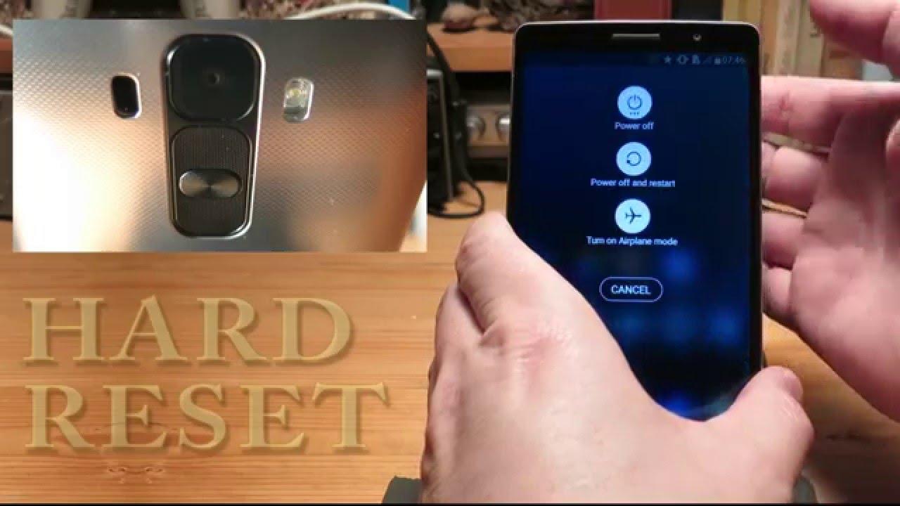 LG G4 Stylus Hard Reset Factory