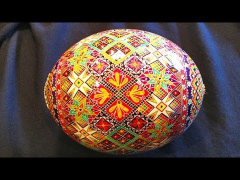 How To Prepare An Ostrich Egg Shell For Pysanky And Batik Style Eggs