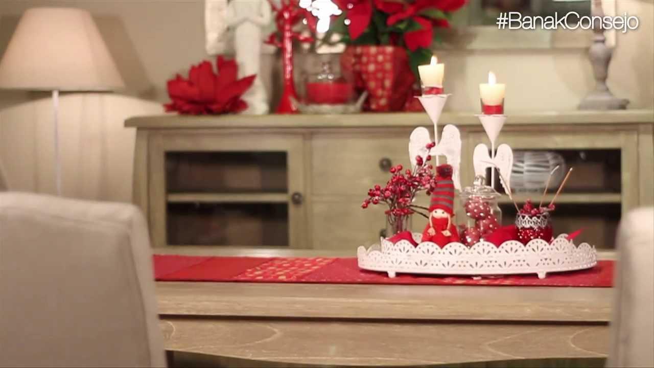 Banak consejo centro de mesa arom tico navide o youtube - Youtube centros de mesa navidenos ...