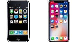  ÉVOLUTION des PUBS de l'iPhone 2G à l'iPhone X (2017)