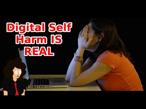 The Internet Can Be Used To Self Harm