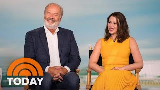 Kelsey Grammer And Lauren Rogen Talk About 'Like Father' And Possible 'Frasier' Reboot! | TODAY