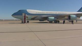 President Begins Trek to Omaha
