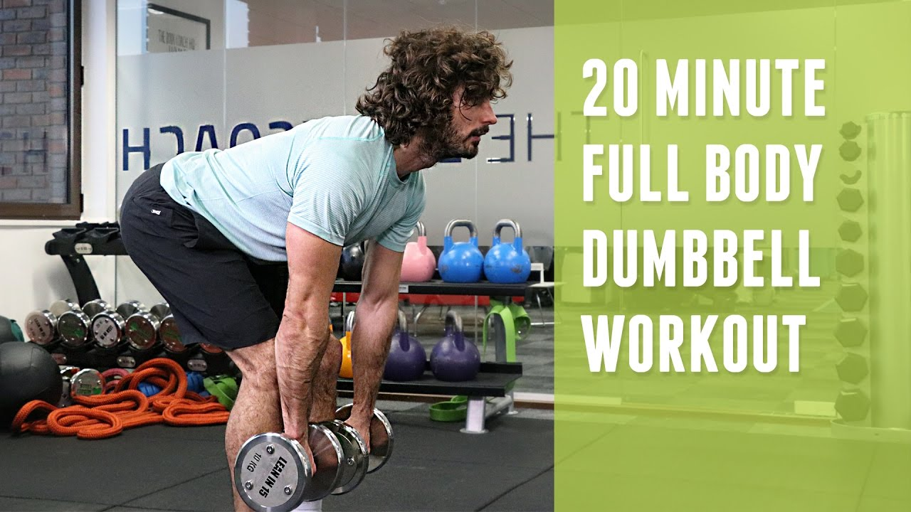 20 Minute Full Body Dumbbell Workout | The Body Coach ...