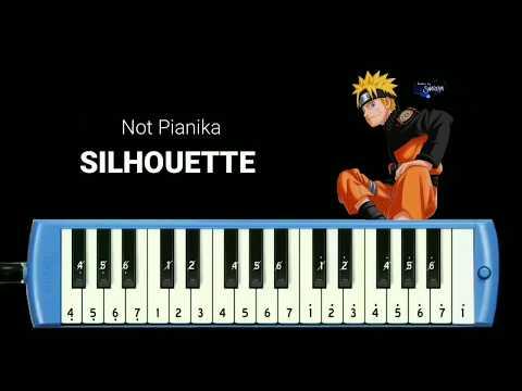 Not Pianika Silhouette Kana Boon Opening Naruto 16