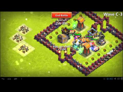 Castle Clash - How To Guide - Town Hall 13 - Wave C