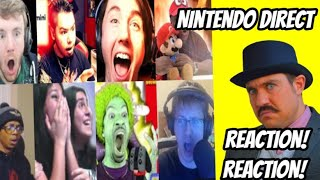 Our Reactions To Nintendo Direct Reactions