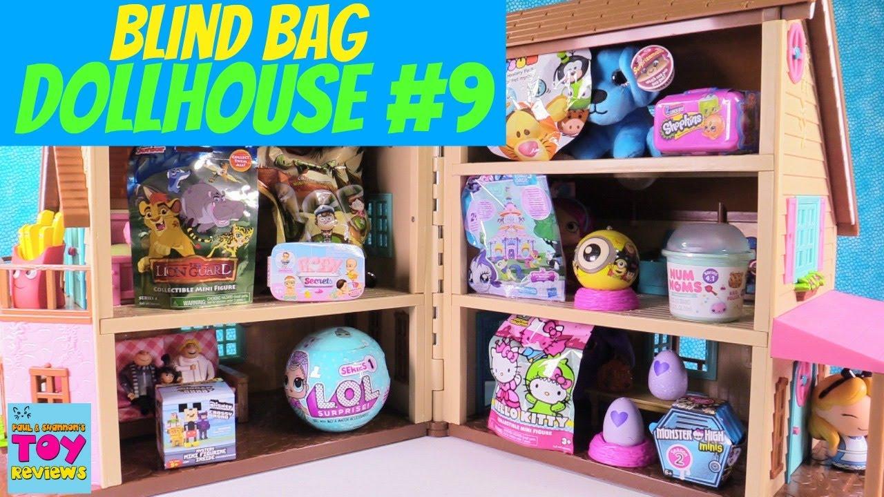 Blind Bag Dollhouse 9 Unboxing Disney Baby Secrets Lol