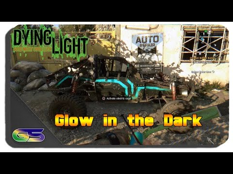 Dying Light: The Following - Glow in the Dark Paint Job Location