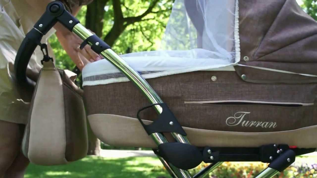 turran silver von lux4kids der kombi kinderwagen mit style im lux4kids kinderwagen test youtube. Black Bedroom Furniture Sets. Home Design Ideas