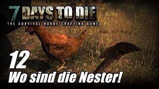 7 Days to Die [12] [Alpha 13] [Wo sind die Nester] [Let's Play Gameplay Deutsch German HD] thumbnail