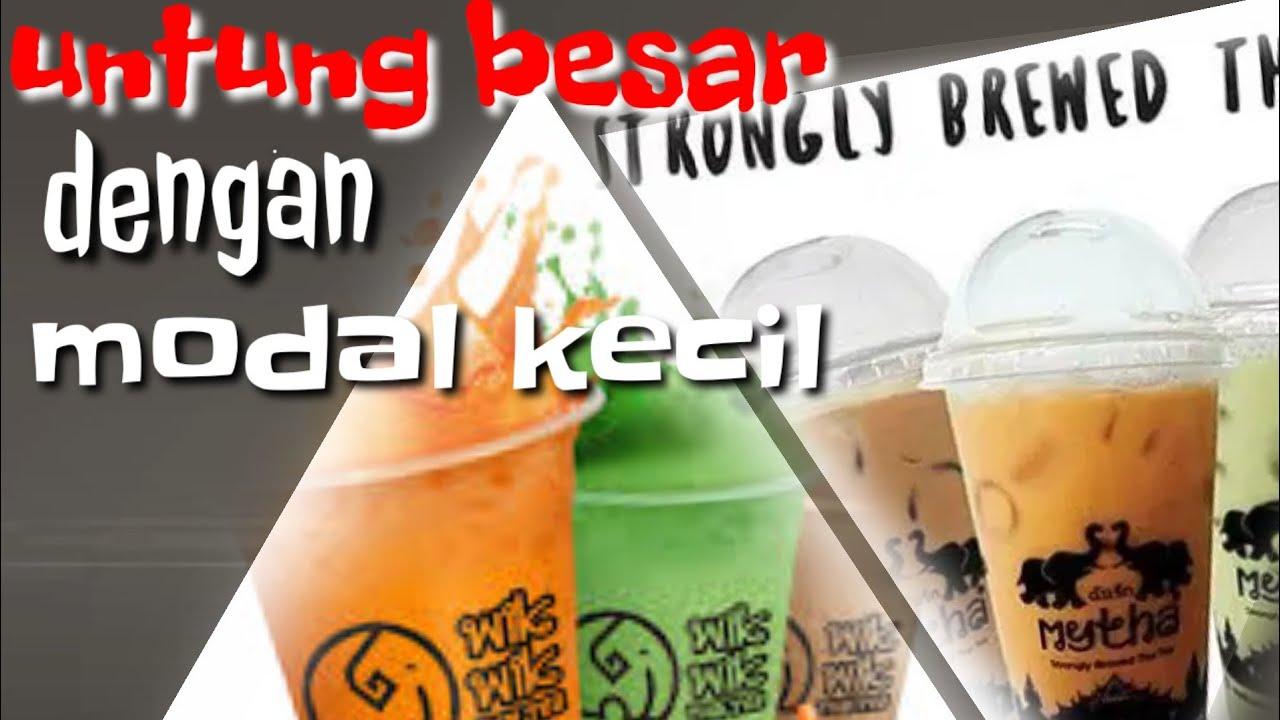 usaha thai tea untung besar dengan modal kecil - YouTube