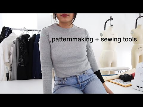 Patternmaking, Sewing, And Draping Tools For FASHION DESIGN