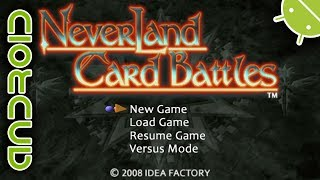 Neverland Card Battles | NVIDIA SHIELD Android TV | PPSSPP Emulator [1080p] | Sony PSP