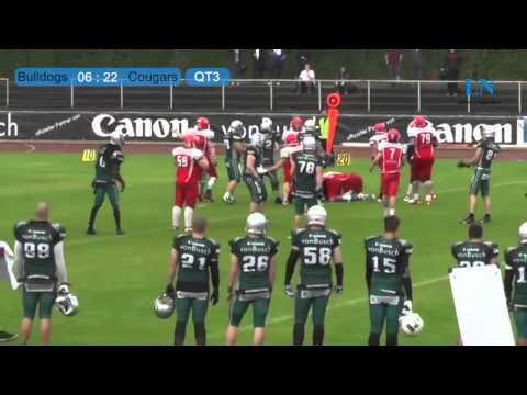 Bielefeld Bulldogs – Lübeck Cougars 13:43