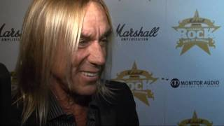 Iggy Pop's a living legend and Ronnie Wood gets a gong!