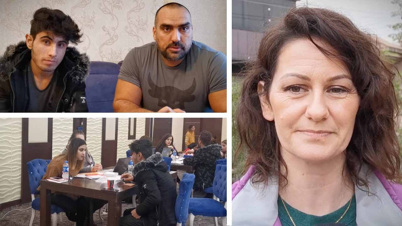 Saddam Hussein the Yazidi refugee tells his story | Sheila Gunn Reid