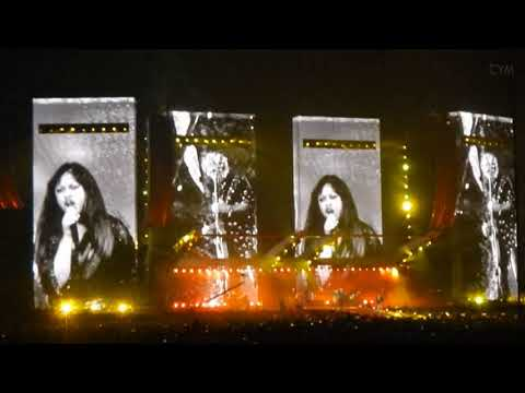 Rolling Stones Gimme Shelter with Sasha Allen Amsterdam 30-09-2017