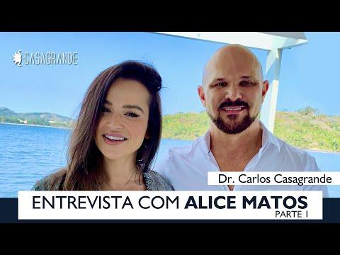 COMO TER CORPO PERFEITO - ENTREVISTA EXCLUSIVA COM ALICE MATOS - PARTE 1