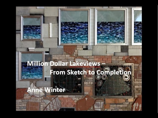 Million Dollar Lake Views From Sketch to Completion - Anne Winter