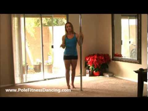 Home Pole Dancing Lesson Basic Pole Moves For Beginners Series