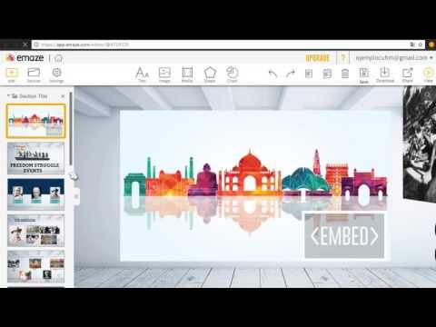 Presentaciones con Emaze