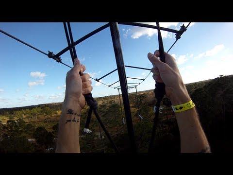 Zip Line Roller Coaster The Rattlesnake At Forever Florida Ecopark POV