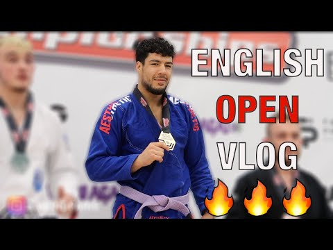 VIOLENCE AT THE ENGLISH OPEN - BJJ Competition Vlog