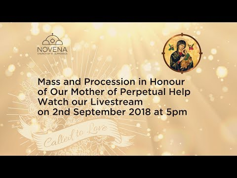 Mass and Procession in Honour of Our Mother of Perpetual Help
