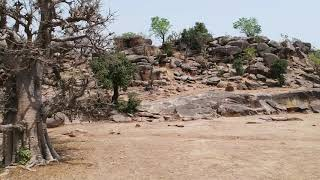 Drone Footage: Bongo Rocky Landscapes - Northern Ghana