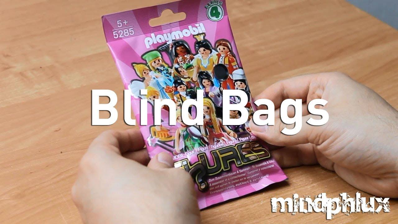 playmobil figures für mädchen blind bags  mindphlux  youtube