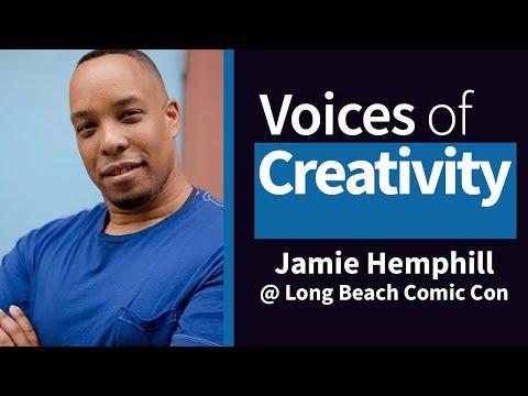 Voices of Creativity - Jaimel Hemphill at Long Beach Comic Con 2014