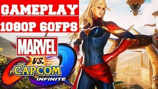 Marvel vs Capcom Infinite Deluxe Edition Gameplay (PC)