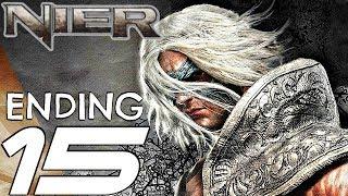 NIER - Gameplay Walkthrough Part 15 - Ending & Final Boss Fight