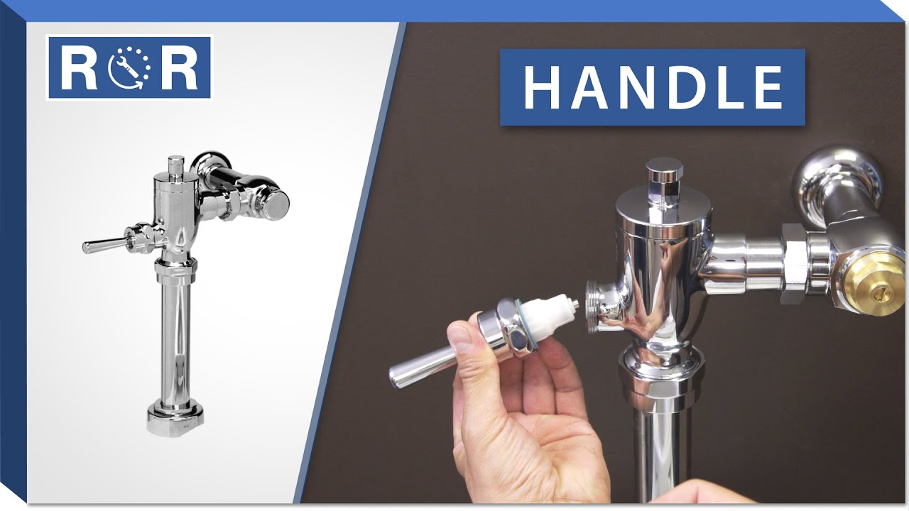 Toto Manual Flushometer Handle Repair And Replace