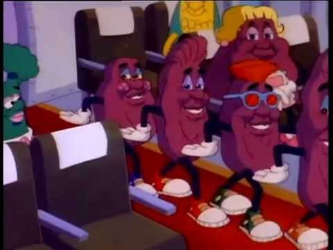 """The California Raisins - """"I Heard It Through The Grapevine"""""""